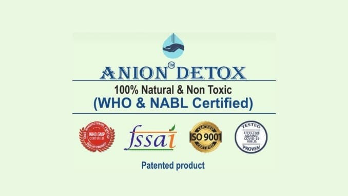 Preventing COVID 19 is simple with Anion Detox Digpu News 1 1