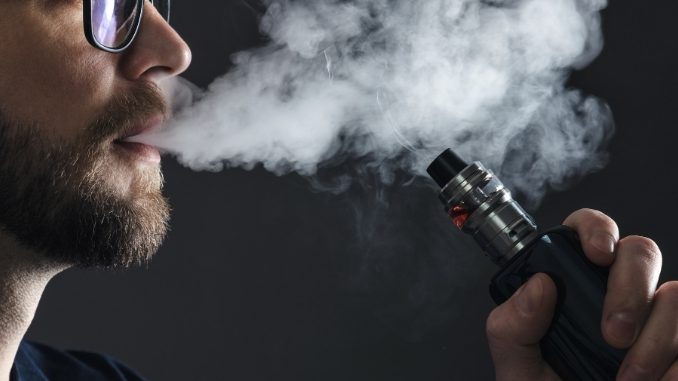 According to study parents less careful when their youngsters vape than when they smoke