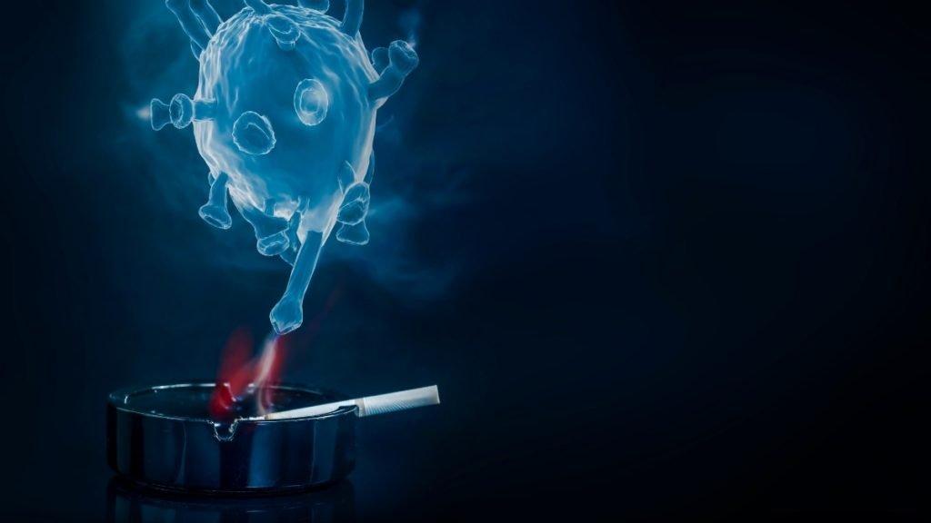 Smoking may increased risk of COVID-19 symptoms