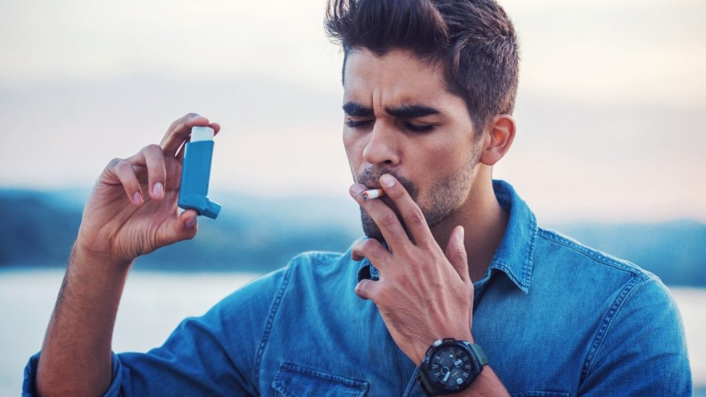 A study of uncontrollable asthma patients found that half-smoked cannabis